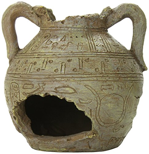 Ancient Broken Vase Aquarium Decoration Fish Hideaway Ornament For