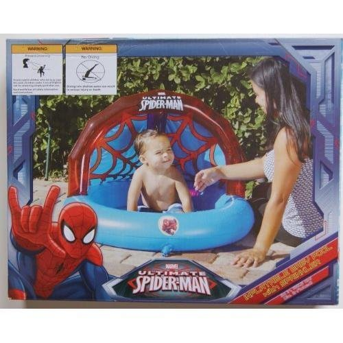 Spiderman Inflatable Baby Pool with Sprinkler GY#583-4 6-...