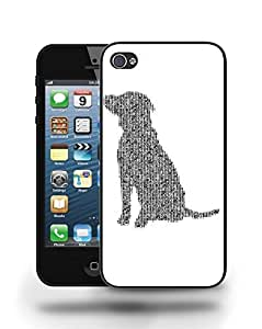 Cool New Typography Dog Puppy Phone Case Cover Designs for iPhone 4