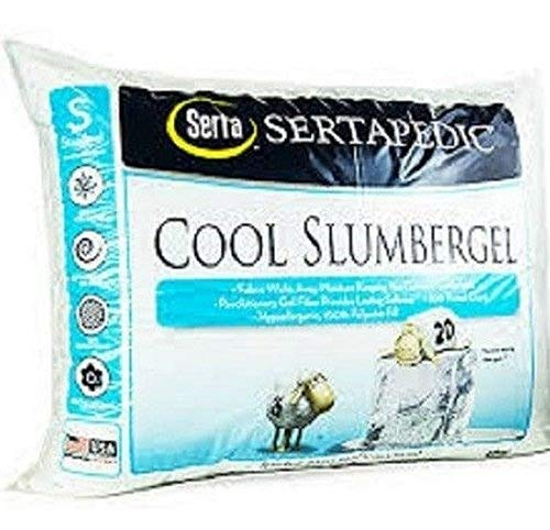 Cool Slumber Gel Pillows, 300 Thread Count - Set of Two Standard Size Pillows