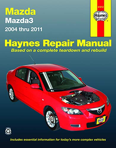 (Mazda 3, '04-'11 Technical Repair Manual (Haynes Repair Manual))