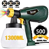 Best Electric Paint Sprayers - Paint Sprayer, TECCPO 500 Watts 800ml/min HVLP Home Review