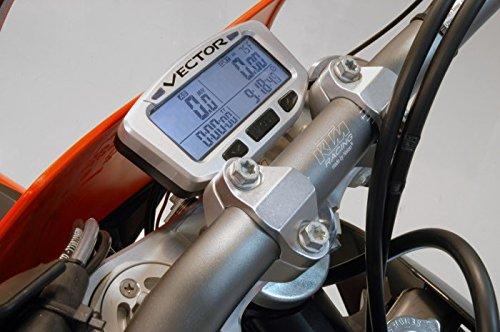 Trail Tech 022-OEB Basic Triple Clamp Mount Bracket for Vapor//Vector//Striker Protector