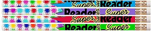 D2339 Super Reader - 36 Reading Award Pencils ()
