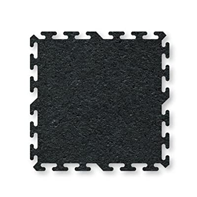 ProImpact Interlocking Rubber Flooring (4 Pieces)