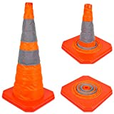 28'' RK Collapsible Traffic Emergency Cone, CONECC28 ( 1-Pack)