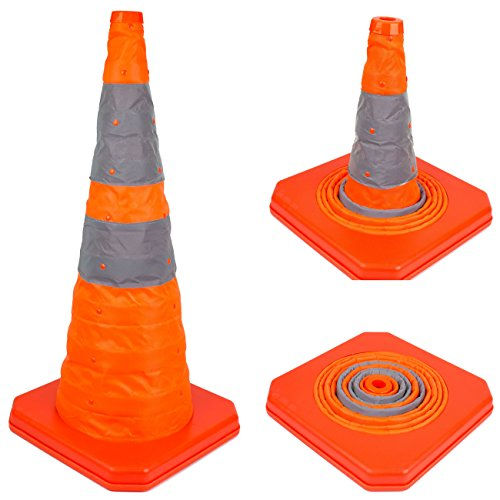 28' RK Collapsible Traffic Emergency Cone, CONECC28 ( 1-Pack)