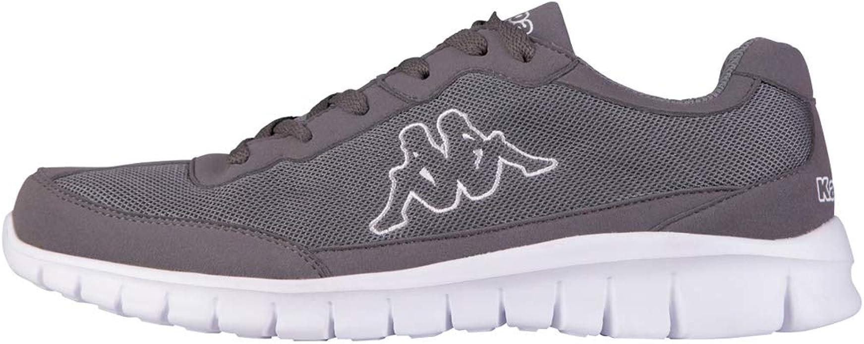 Kappa Rocket Sneakers Fitnesschuhe Damen Herren Unisex Grau