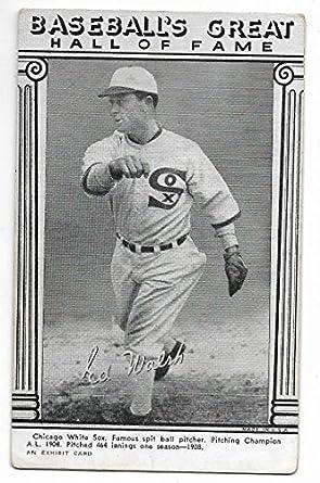 Amazoncom 1948 Baseball Hall Of Fame Exhibit Card Of Ed