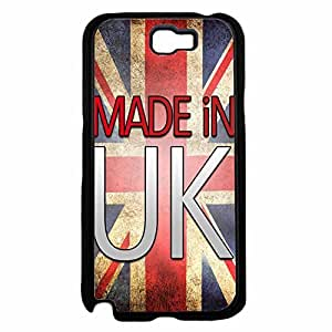 Made in UK TPU RUBBER SILICONE Phone Case Back Cover Samsung Galaxy Note II 2 N7100 by icecream design