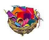 Parrot Kook Basket of Balsa and Bagels Bird Toy USA