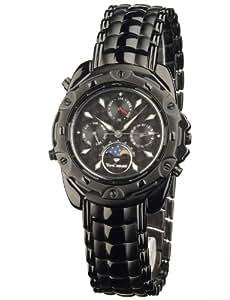 Yves Camani Platon - Reloj  para hombre, color negro