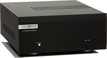 Musical Fidélity M1 PWR amplificador de potencia de 60 W negro