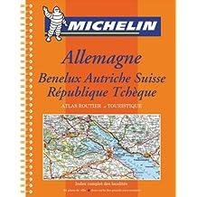 Michelin Allemagne/Autriche/Benelux/Suisse/Republique Tcheque, Atlas No. 20462, 4e