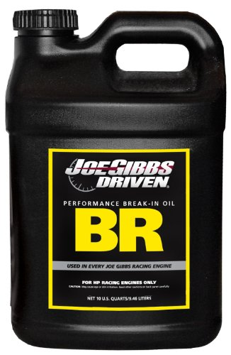 Joe Gibbs Driven Racing Oil 00114 BR 15W-50 Break-In Motor Oil - 10 Quart Jug