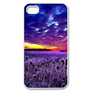 Beautiful sky Unique Design Cover Case with Hard Shell Protection for Iphone 4,4S Case lxa#394205