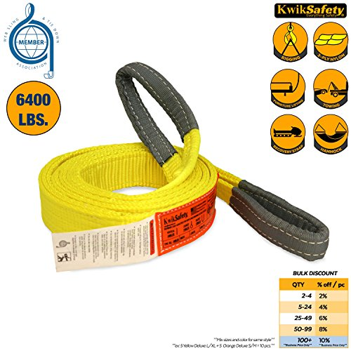 "KwikSafety 2""x20' Industrial Web Sling 