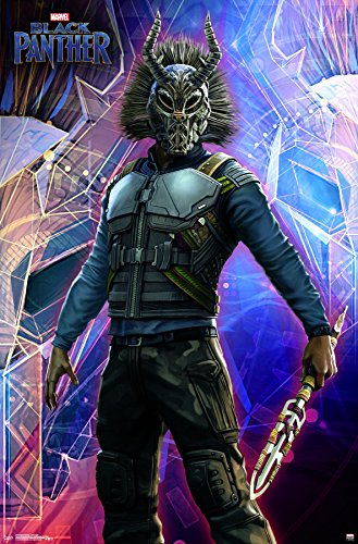 wall poster killmonger black panther