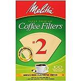 Melitta #2 Cone Coffee Filters, Natural