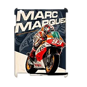 Classic Case Valentino Rossi pattern design For IPad 2,3,4(3D) Phone Case
