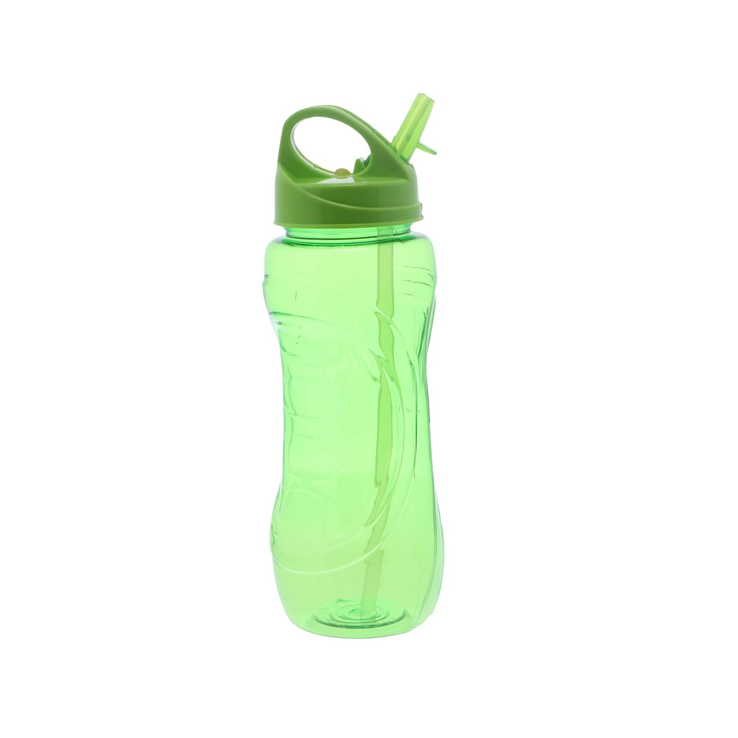 Set of 4 SandT Collection 28oz Sports Water Bottle with Flip Straw