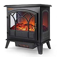 TACKLIFE Electric Fireplace Heater Adjus...