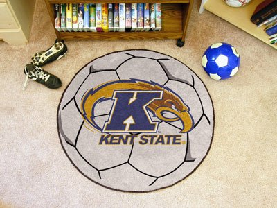 Kent State University Soccer Ball (Kent State Basketball Rugs)
