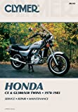 81-82 HONDA GL500: Clymer Service Manual