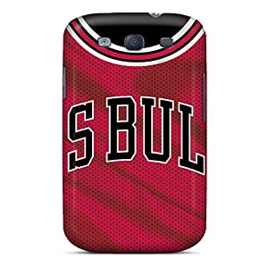 AlissaDubois Samsung Galaxy S3 Perfect Hard Phone Case Unique Design Beautiful Chicago Bulls Pattern [iKm11610AoIr]