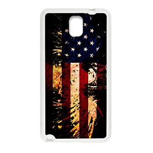 American Flag USA Bald Eagle Cell Phone Case for Samsung Galaxy Note3