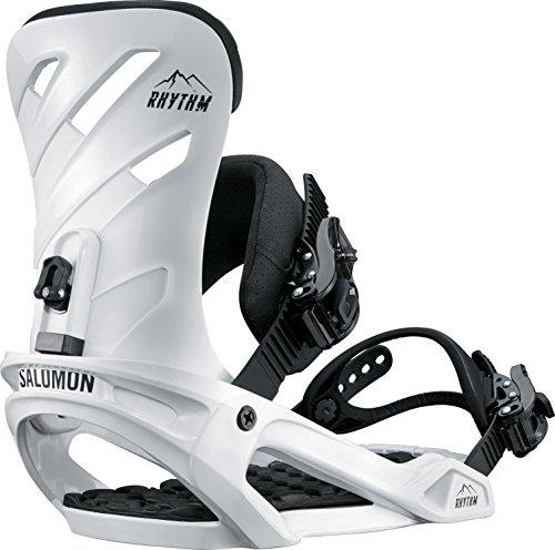Salomon 2018 Rhythm White Large Mens Snowboard Bindings