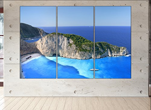 Zakynthos Island canvas Zakynthos Island canvas wall for sale  Delivered anywhere in USA