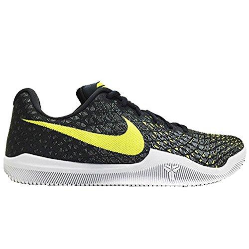 NIKE Mens Kobe Mamba Instinct Shoes Dust/Electrolime/Pure Gray 852473-003 (10) ()