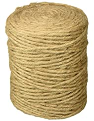Darice 5-Ply Craft Designer Jute, Natural