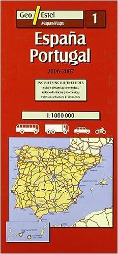 España Portugal 2006-2007: Escala 1:1000 000 Mapas de carreteras ...