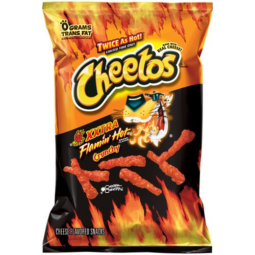 Cheetos XXtra Flamin' Hot Crunchy Flavor Snacks, 3.75oz (28 Pack) by  (Image #1)