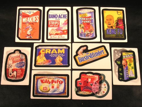 Wacky Packages Flashback 2 Set of 10 Motion Cards ()