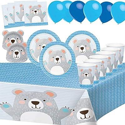 Desconocido Fiesta de Cumpleaños Oso Animales para 8 Niños ...