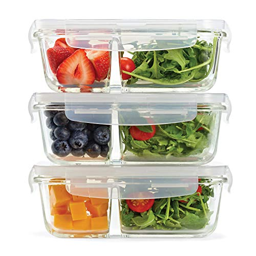 food containers two compartments - 9