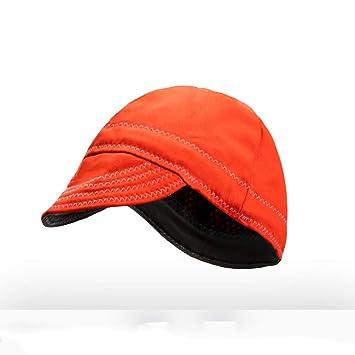 ZPL Sombrero de Soldadura Paño ignífugo Lavable Soldadores Tapa Protectora de Soldadura: Amazon.es: Hogar