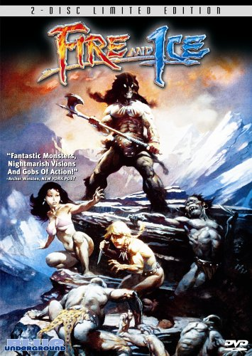 DVD : Fire And Ice (Remastered, Digital Theater System, Widescreen, 2PC)