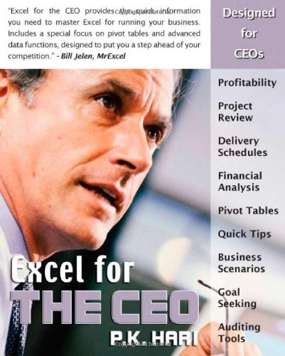 Download Excel for the CEO (Excel for Professionals series) ebook