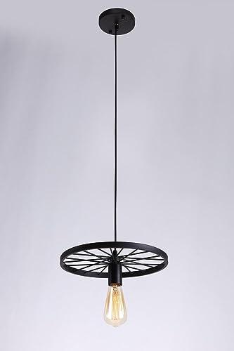 Retro lámpara colgante cilindro de diseño Industrial Vintage ...