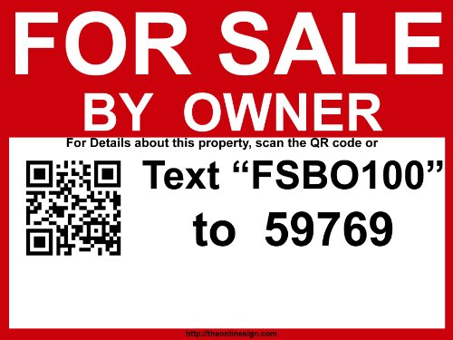 Sign linked Craigslist FSBO com listing product image