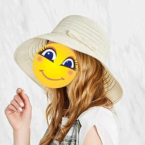 Seaside Hat Sun Hat Female Summer Beach Hat Sunscreen UV Visor Wild Foldable Cap