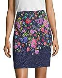 OSCAR DE LA RENTA Womens Floral Pencil Skirt, 4