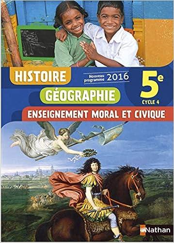Amazon Fr Histoire Geographie Emc 5e Nouveau Programme