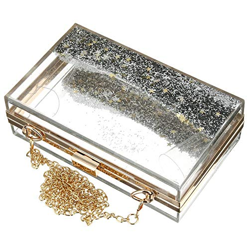Clutch Clutches Pearl Bag Perspex Bags Purse Beaded Handbags Women Acrylic Floral 6gOZqnqdS
