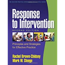 Response to Intervention, Second Edition: Principles and Strategies for Effective Practice (The Guilford Practical...