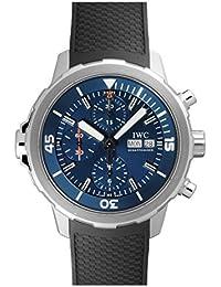 Men's Swiss Quartz Stainless Steel Watch, Color:Black (Model: IW3768-05)